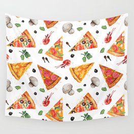 Pizza Party Wall Tapestry