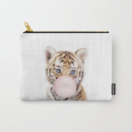 Bubble Gum Tiger Cub Carry-All Pouch