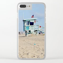 Venice Beach IV Clear iPhone Case
