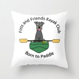 Kayak Club Throw Pillow