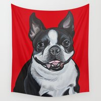 coco Wall Tapestries featuring Coco by Pawblo Picasso
