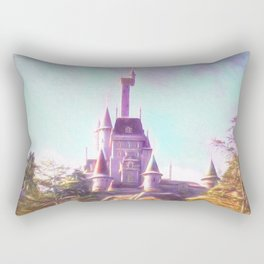 Rapunzel's Castle Rectangular Pillow
