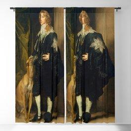 "Sir Anthony van Dyck ""James Stewart, 1st Duke of Richmond, 4th Duke of Lennox"" Blackout Curtain"