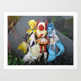 Original Three Art Print