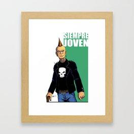 Always young / Siempre joven Framed Art Print