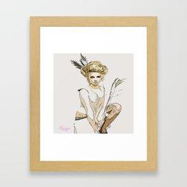 For The Love Of Pink Framed Art Print