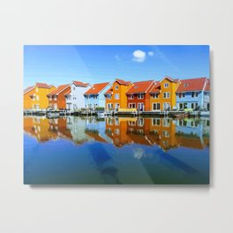 Dutch suburbs Metal Print