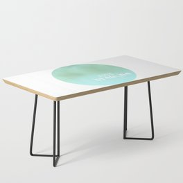 just breathe Coffee Table