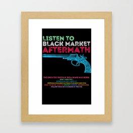 Gun Color Typo High Framed Art Print