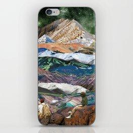 Infinite mountains iPhone Skin