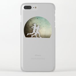 Runners Clear iPhone Case