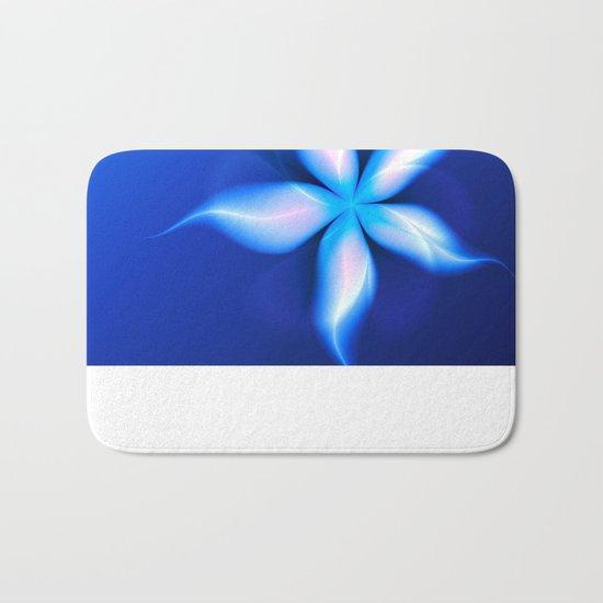 La Fleur Magique de la Sorcière Fractal Bath Mat