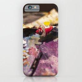 Paints iPhone Case