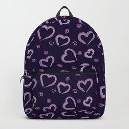 Valentine Heart Brush Backpack