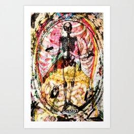 Memo Les Mânes Art Print