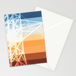 Transmission Lines Stationery Cards