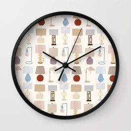 Lamps and Lighting Wall Clock