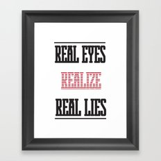Realize Framed Art Print