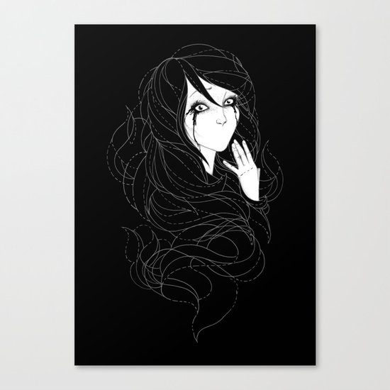 Speechless Canvas Print