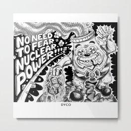 Nuclear Power Metal Print