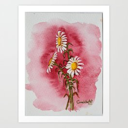 Margaritas al Sol Art Print