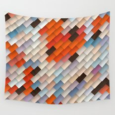 scales & shadows Wall Tapestry
