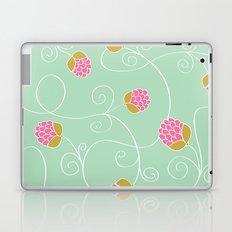 Raspberry Patch Aqua Laptop & iPad Skin