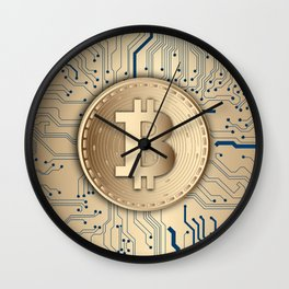 Bitcoin Miner Wall Clock
