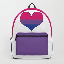 Bisexual Heart Backpack