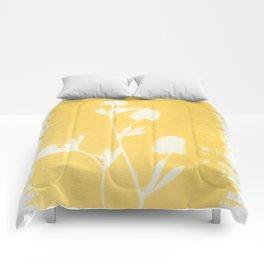 Herbal Sunprint #6 Comforters