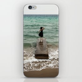 The Woman And The Sea iPhone Skin