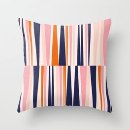 Beaching Pattern Throw Pillow