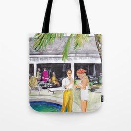 Villa Party Tote Bag