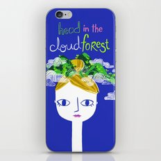 Head in the Cloud Forest iPhone & iPod Skin