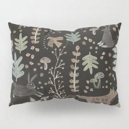 Woodland Nature at Night Pillow Sham