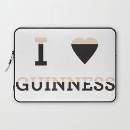 I heart Guinness Laptop Sleeve