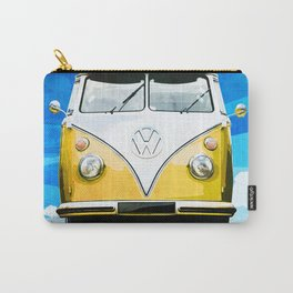 VW CAMPER GOLD - ILLUSTRATION Carry-All Pouch