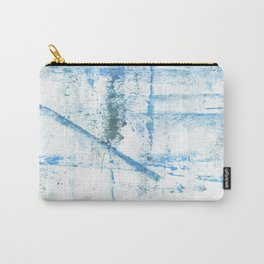 Sky blue abstract Carry-All Pouch