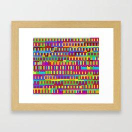 Beethoven Moonlight Sonata (Rainbow Hues) Framed Art Print