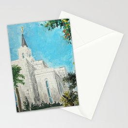 San Salvador El Salvador LDS Temple Stationery Cards