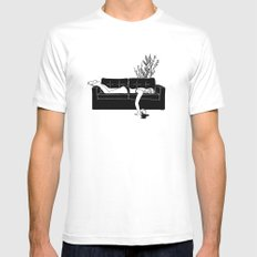 Bad Day MEDIUM Mens Fitted Tee White