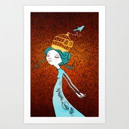 If You Love It, Set It Free Art Print
