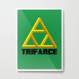 Trifarce Metal Print