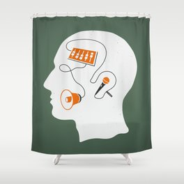 Mixed messages A Shower Curtain