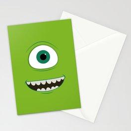 mike wazowski Stationery Cards