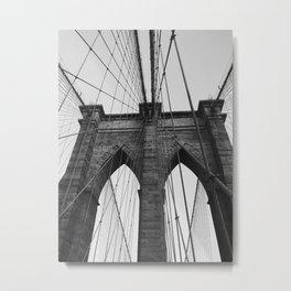 bklyn bridge Metal Print