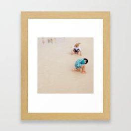 Pseudo Supervision Framed Art Print