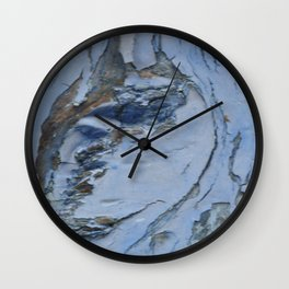 painted knot Wall Clock