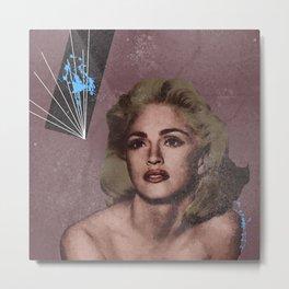 Madge. Metal Print