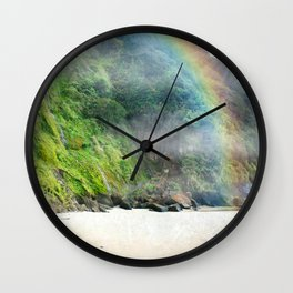 Luck of the Oregonians Wall Clock